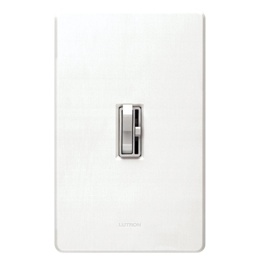 magnetic low voltage dimmer switch aylv 600p wh. Black Bedroom Furniture Sets. Home Design Ideas