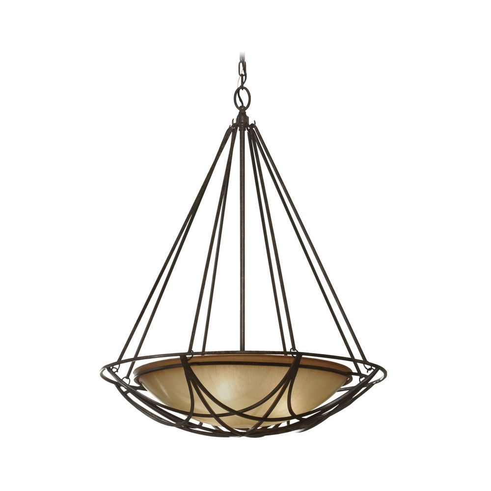 Bowl pendant light in bronze finish with ivory glass f26073mbz bowl pendant light in bronze finish with ivory glass aloadofball Images
