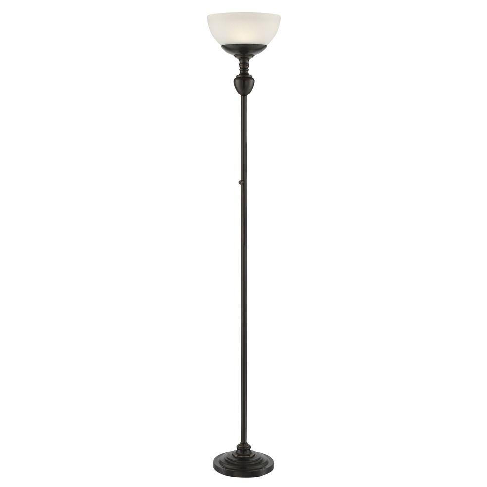 lite source stafford dark bronze led torchiere lamp ls 83026d brz