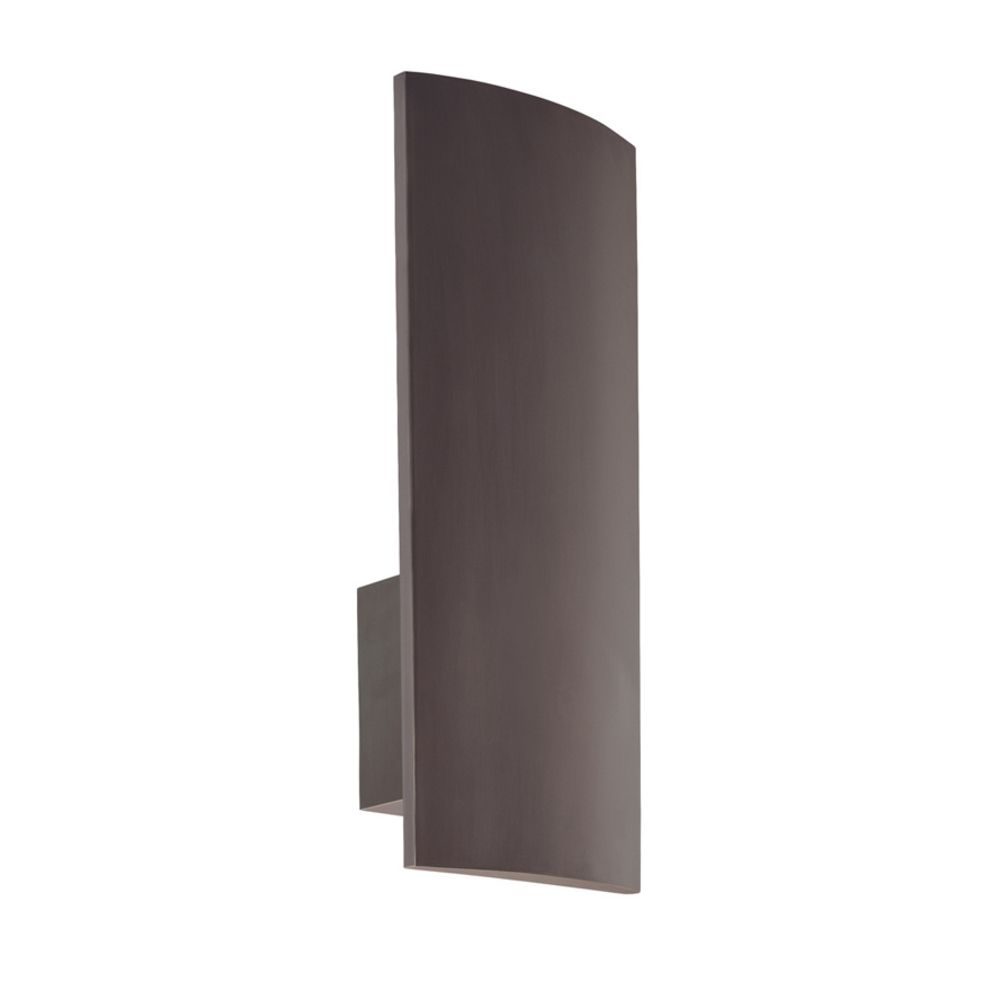 Modern Sconce Wall Light in Rubbed Bronze Finish 1870.24F Destination Lighting