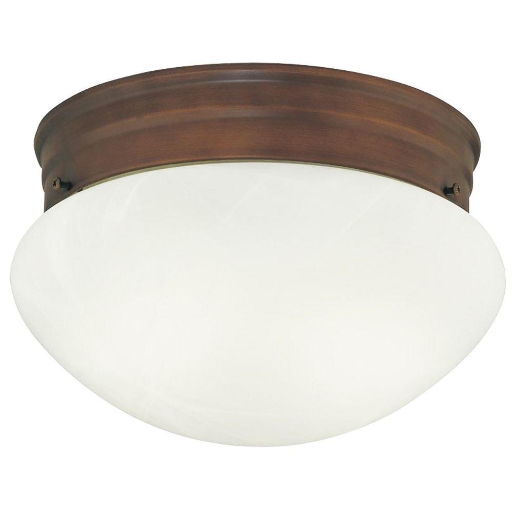 Design classics lighting 8 inch flushmount mushroom ceiling light 29626