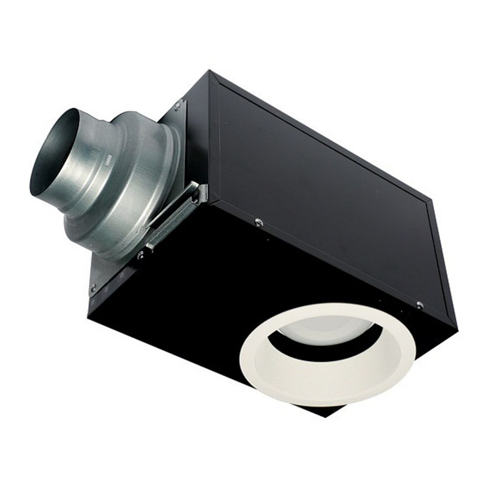 panasonic whisper vented exhaust fan with light fv
