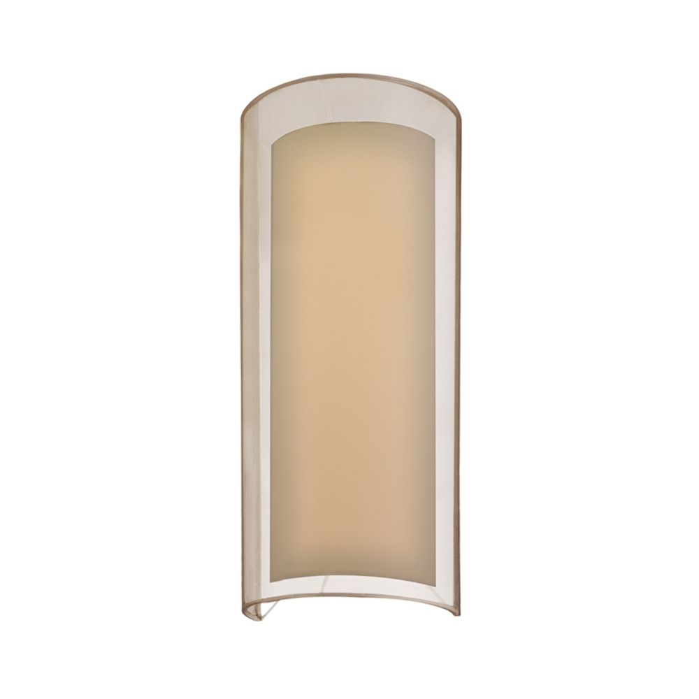 Brass Wall Sconce With Black Shade : Modern Sconce Wall Light with Silver Shade in Black Brass Finish 6017.51F Destination Lighting