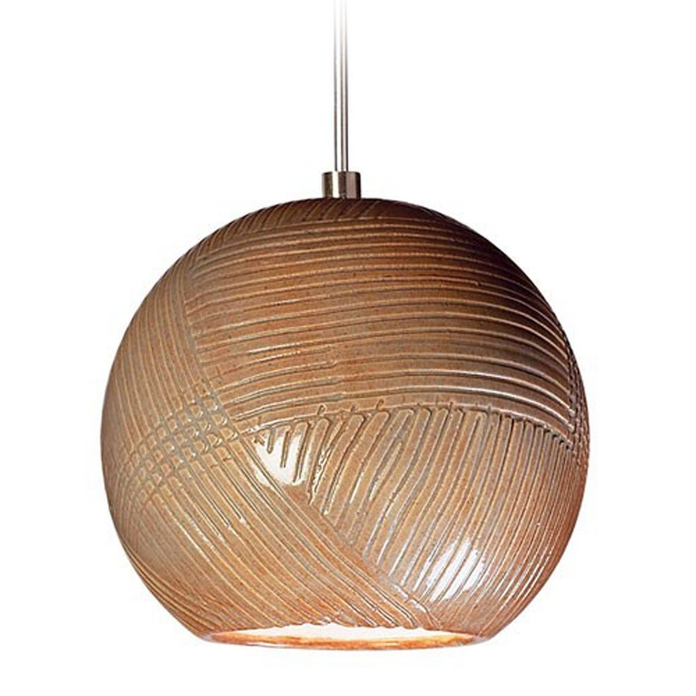 A19 Lighting Modern Low Voltage Mini Pendant Light With Porcelain Shade LVM