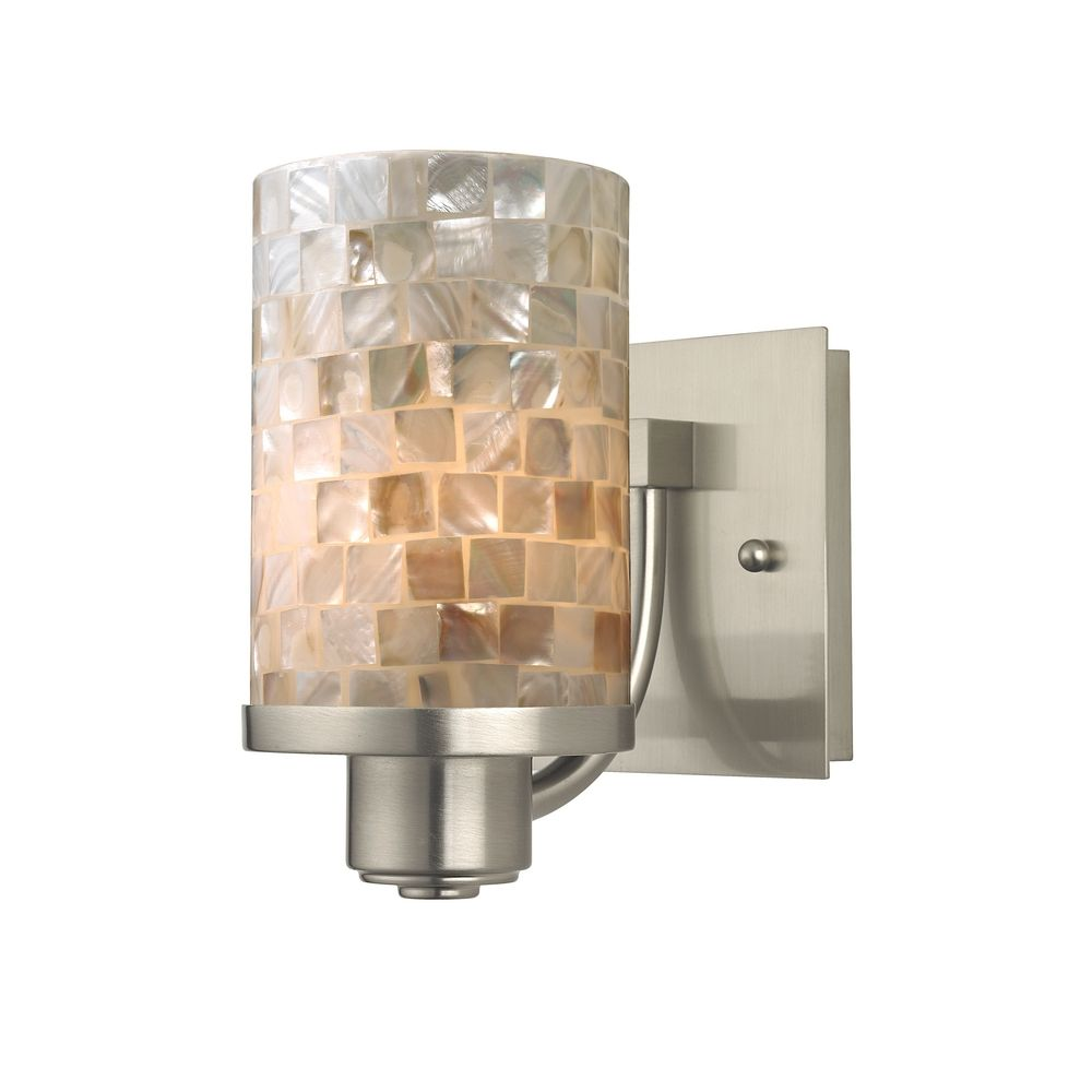 Wall Sconces Glass Shades : Swan Neck Wall Light with Hay Glass Coolie Shade Fritz Fryer - Wall lights, LED bathroom ...