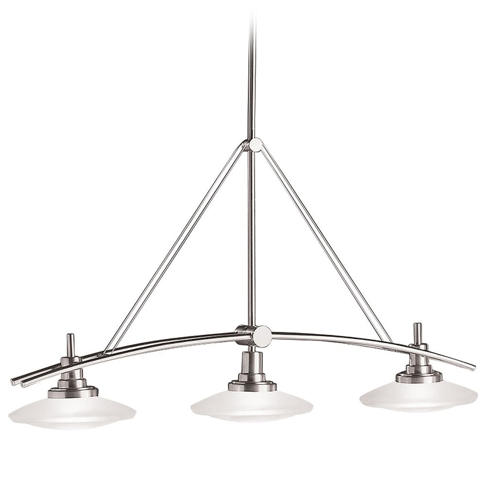 kichler three light pendant 2955ni destination lighting