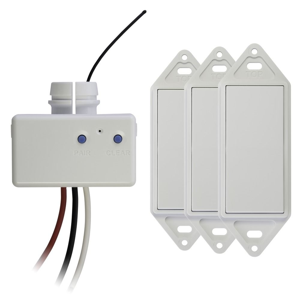 Wireless 4Way Switch Kit White Works Only with GoConex Basic