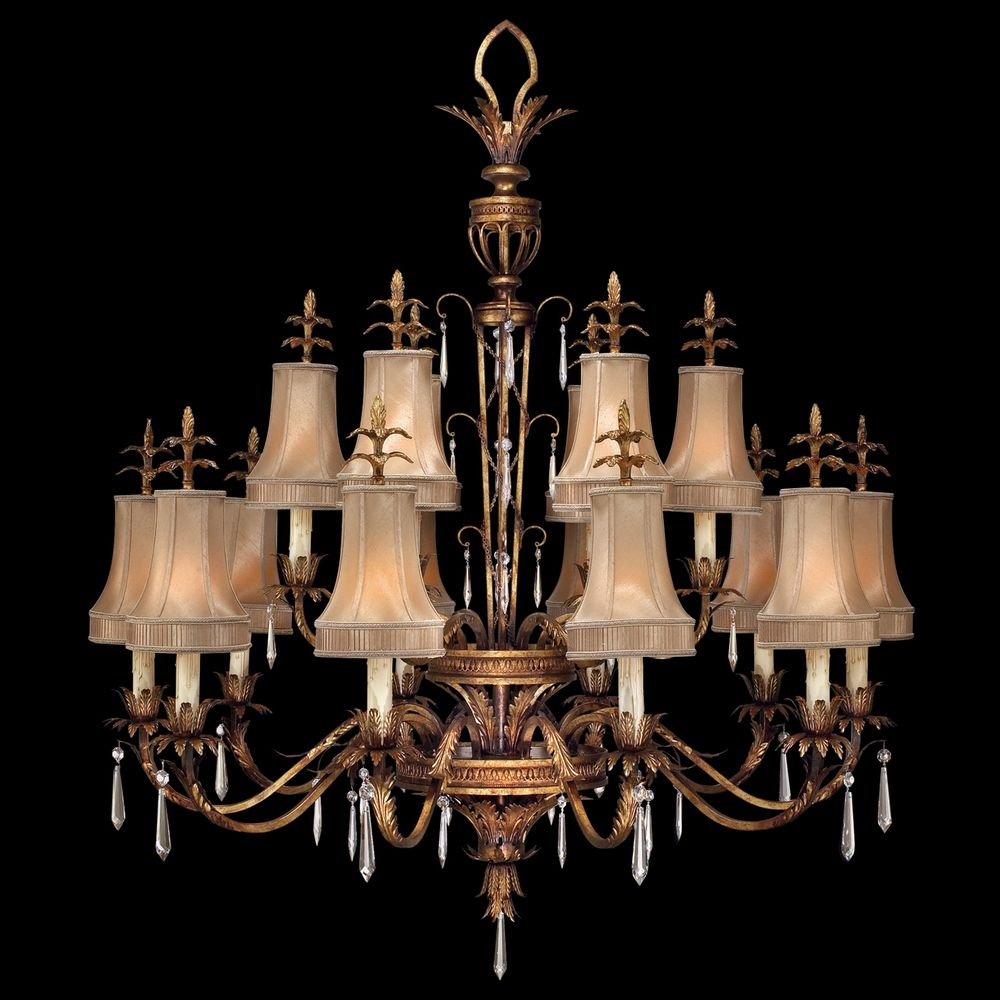 Fine art lamps pastiche antique gold crystal chandelier 428040 2st fine art lamps fine art lamps pastiche antique gold crystal chandelier 428040 2st arubaitofo Image collections