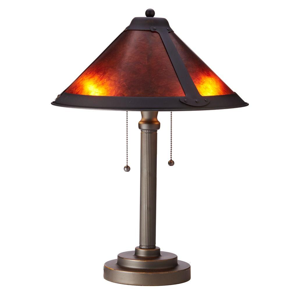 Product Image  sc 1 st  Destination Lighting & Mica Two-Light Table Lamp | JT-100A-78 | Destination Lighting
