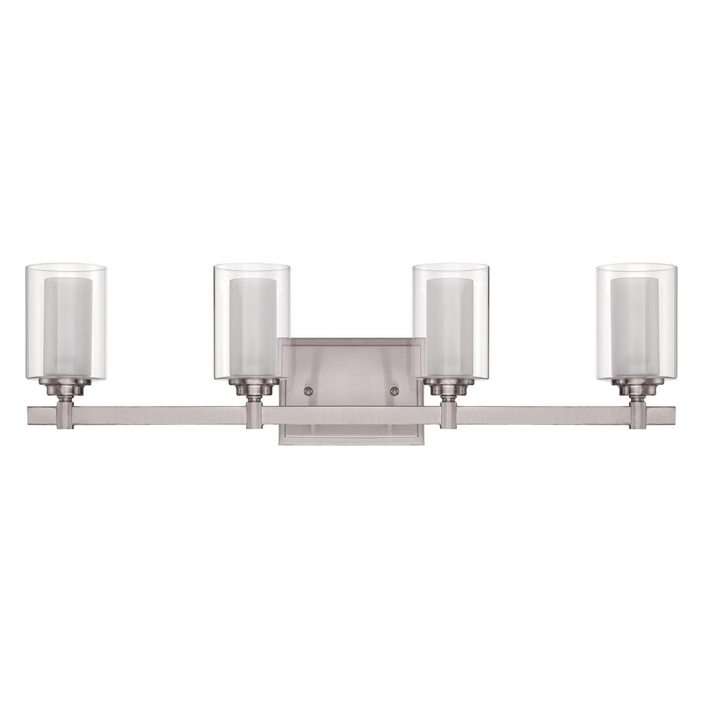 polished nickel bathroom lights craftmade celeste brushed polished nickel bathroom light 20021