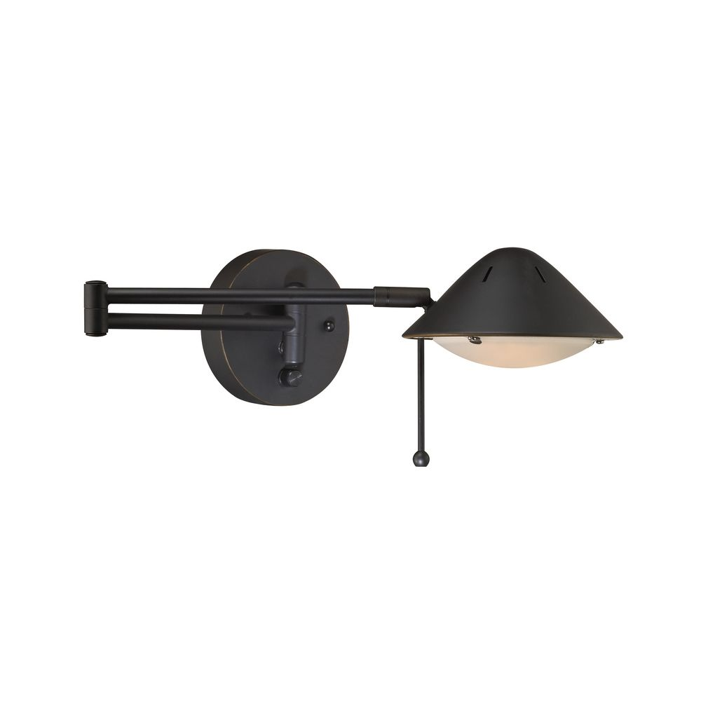 Swing-Arm Wall Lamp - Wall Lamps Wall Lamps With Cords Swing Arm Wall Sconces