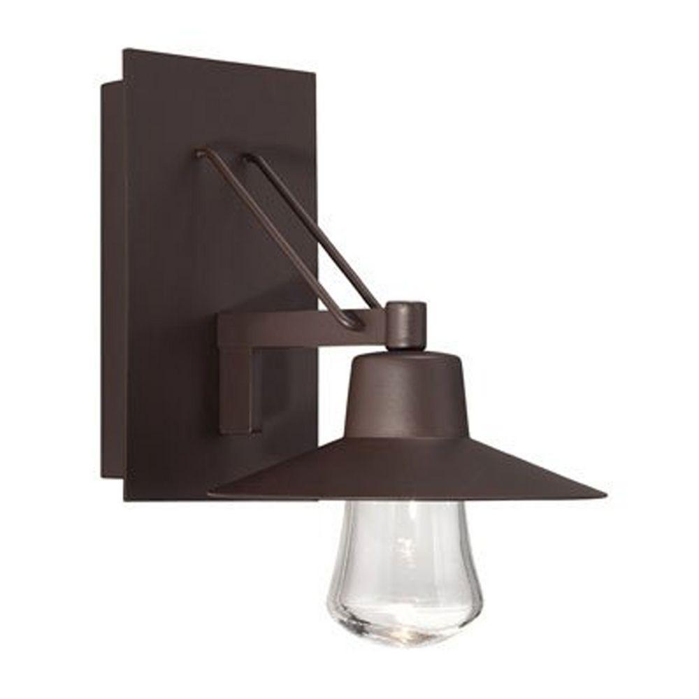 modern forms suspense bronze led outdoor wall light ws w1911 bz destination lighting