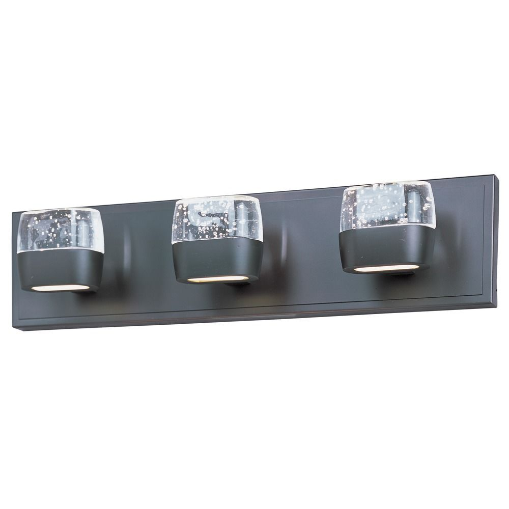 Led Lights For Vanity : Volt 3-Light LED Vanity E22893-89BZ Destination Lighting