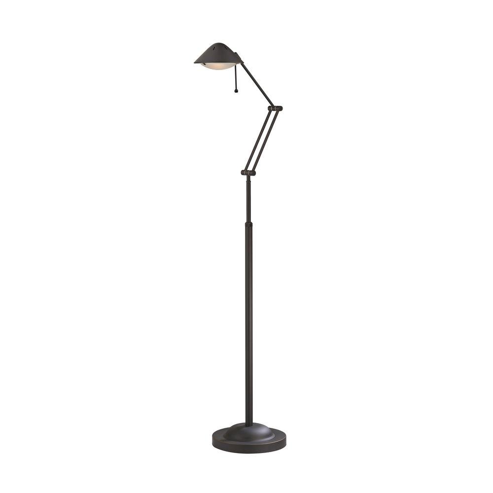 Adjustable floor lamp ebay for Ikea floor uplight reading lamp 69 black