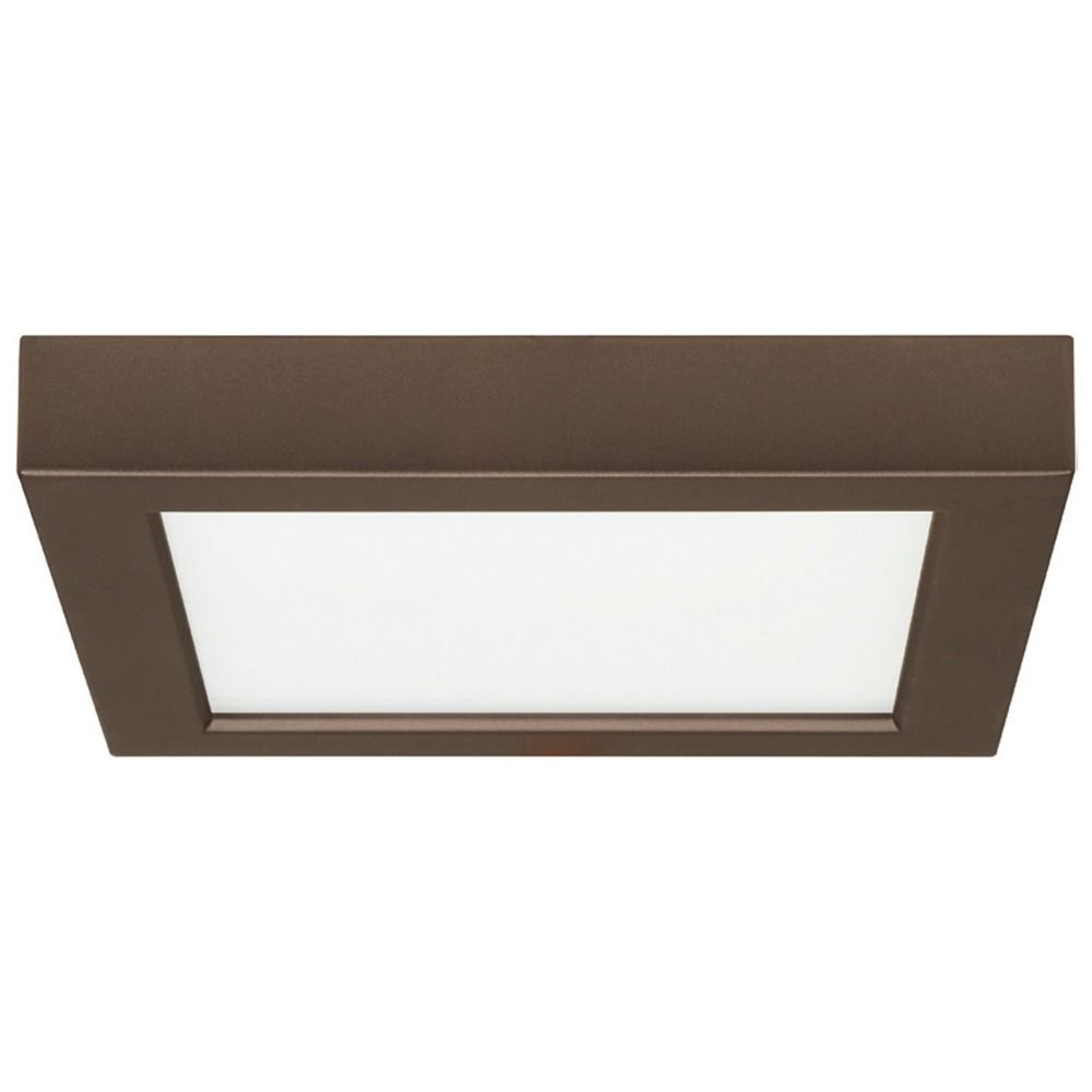 light contemporary flush mount elk square ceiling nickel zoom cubist loading brushed fixture