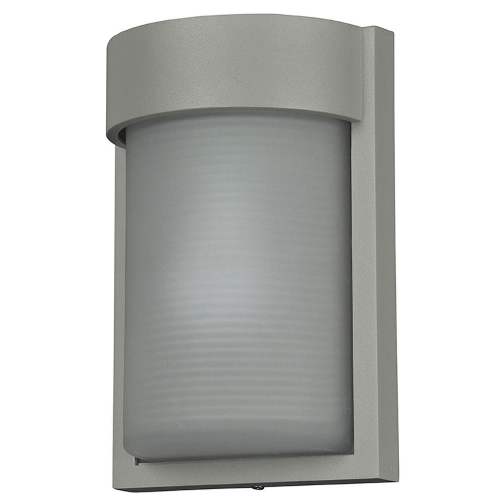 Access Lighting Destination Satin Nickel LED Outdoor Wall