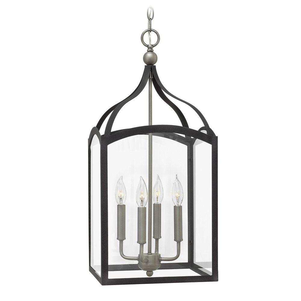 Hinkley Lighting Clarendon Aged Zinc Pendant Light With