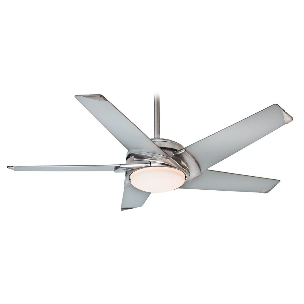 Casablanca Fan Stealth Brushed Nickel LED Ceiling Fan With