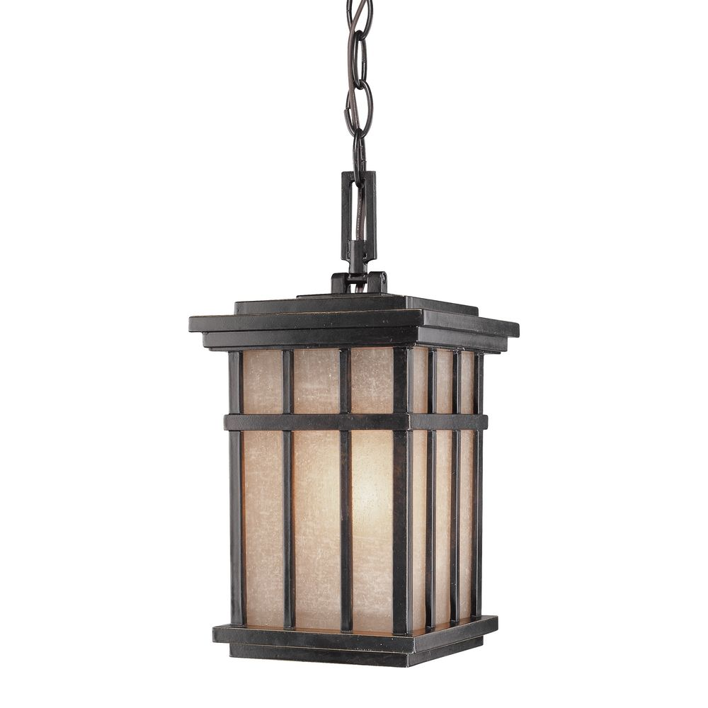 Hanging outdoor pendant 9143 68 destination lighting for Outdoor porch light fixtures