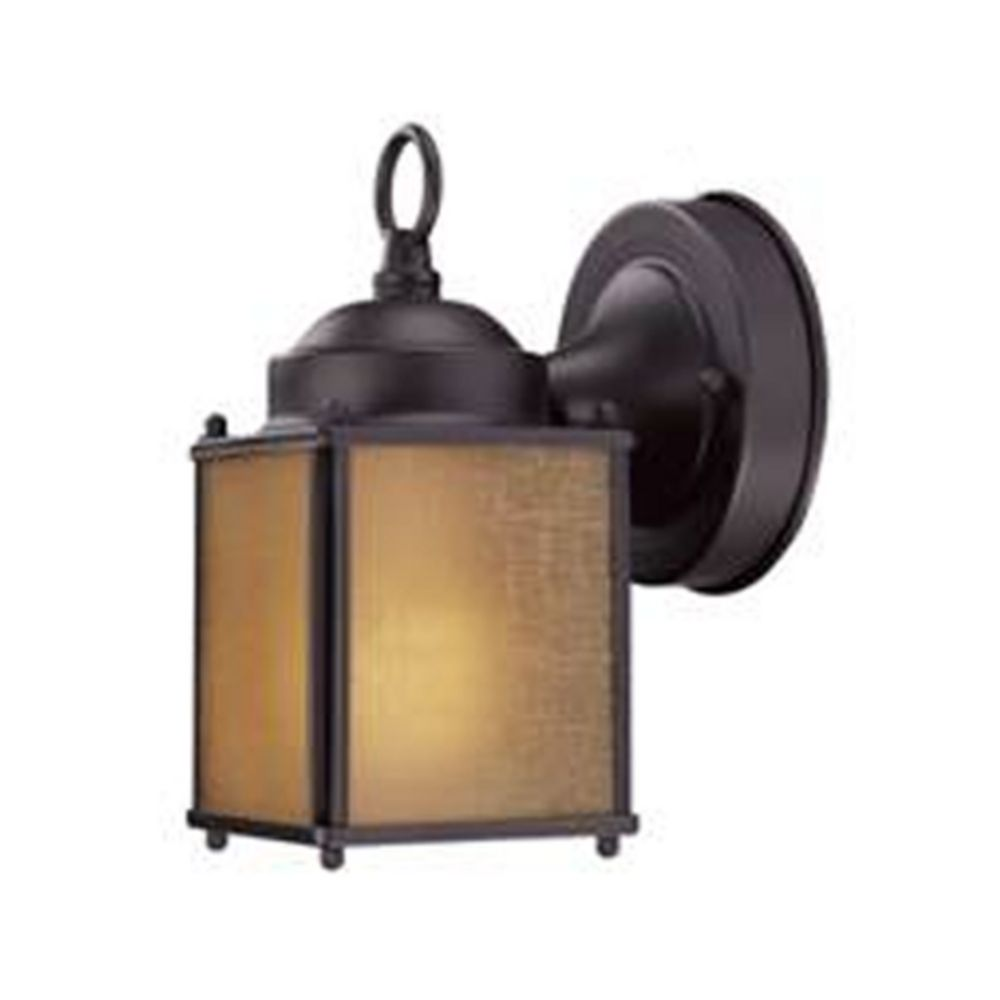 Small Wall Lights For Bathroom : Small Bronze Outdoor Wall Light with Compact Fluorescent Light Bulb 501ES-1-BZ Destination ...