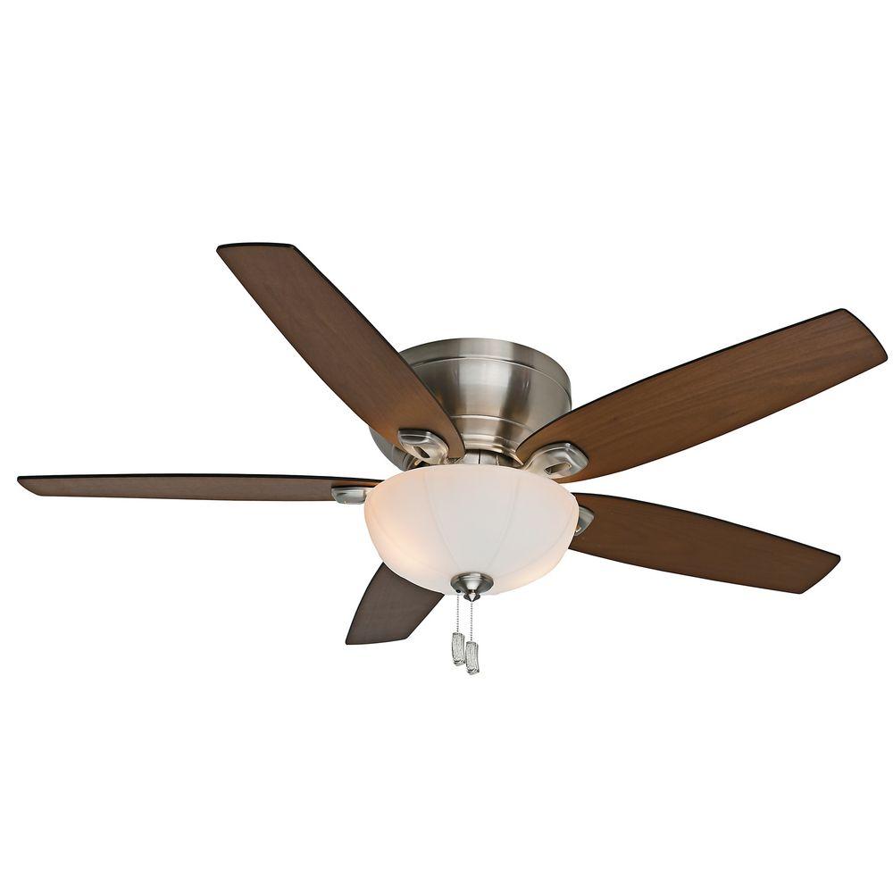 Ceiling fan light transformer : Casablanca fan durant brushed nickel ceiling with