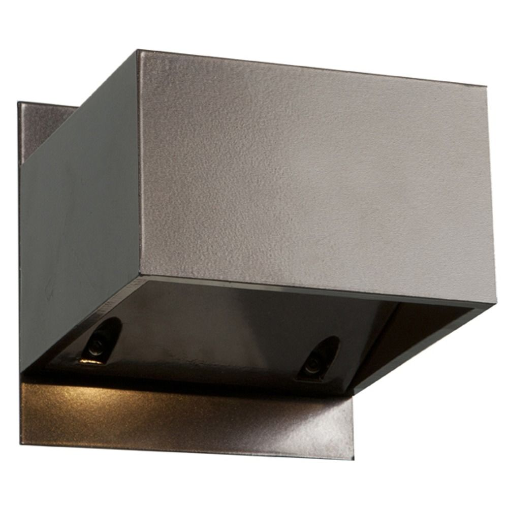 All Square Wall Lights : Access Lighting Square Bronze LED Outdoor Wall Light 20398LEDMG-BRZ Destination Lighting
