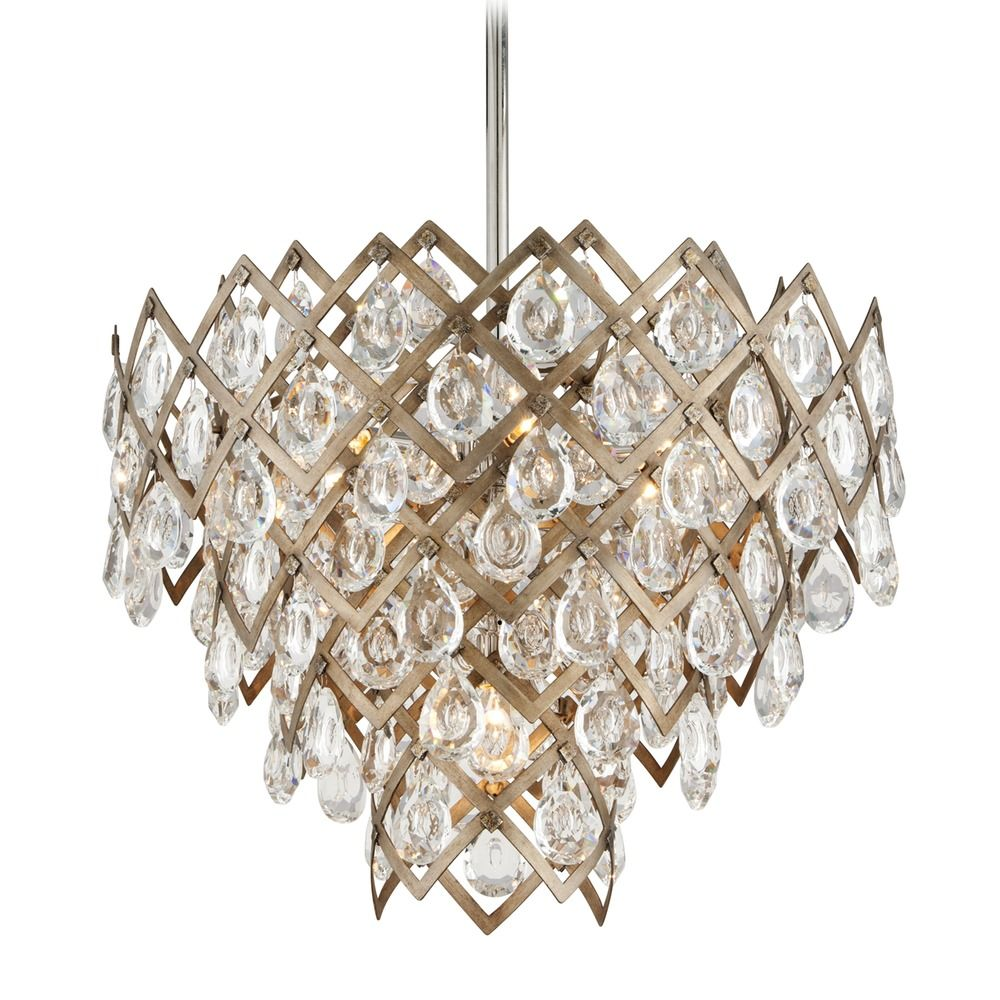 crystal pendant zoom bronze corbett products lighting tiara vienna lights light