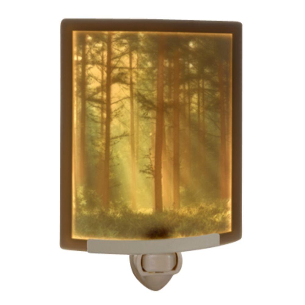 Woodland Sunbeams Colored Lithophane Night Light Nrc123