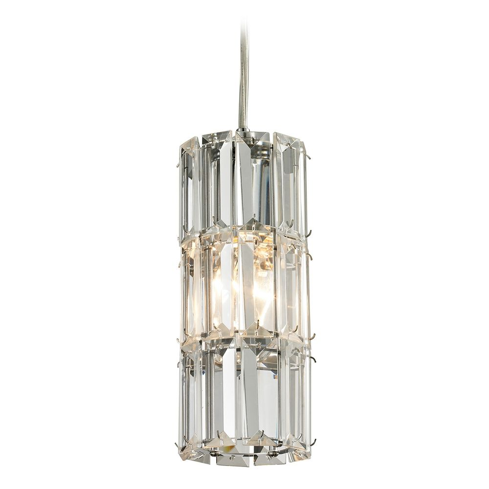 Crystal Mini Pendant Light 31486 1 Destination Lighting