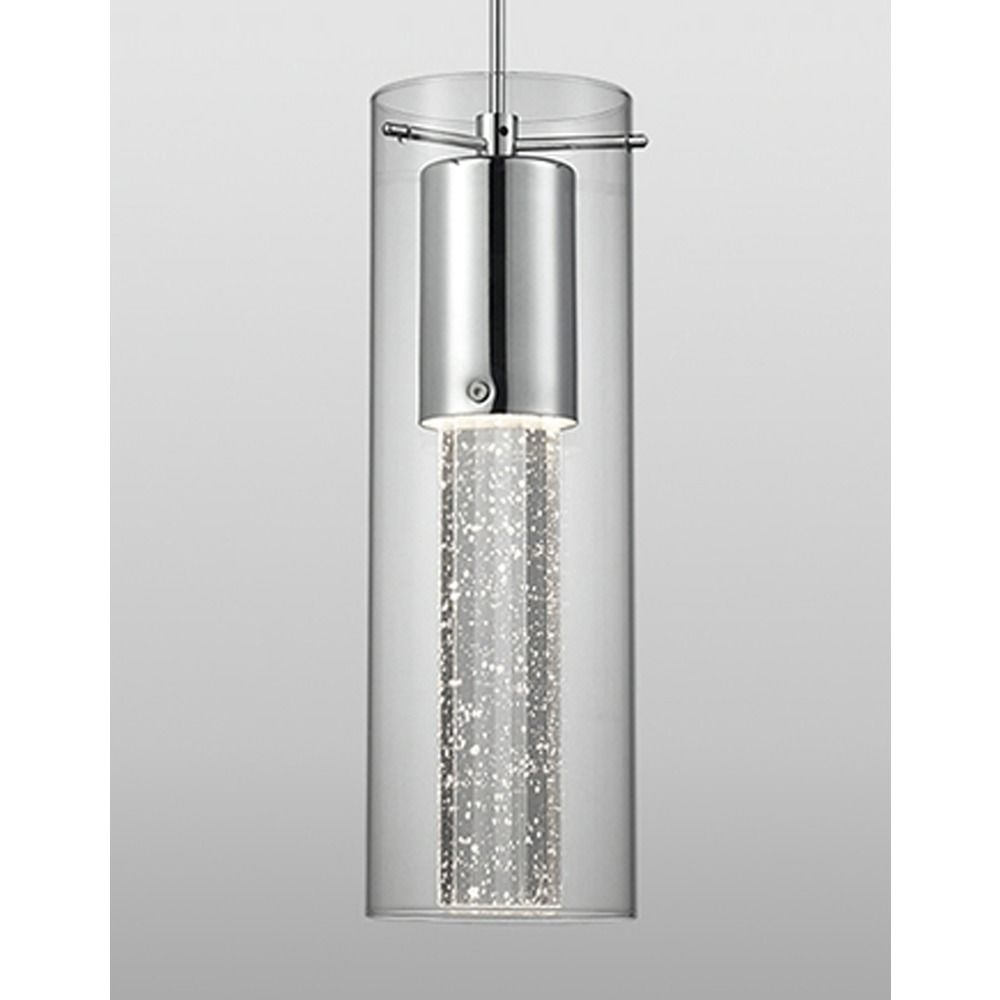 Kuzco Lighting Chrome Mini Pendant Light In By Pd4401 Ch