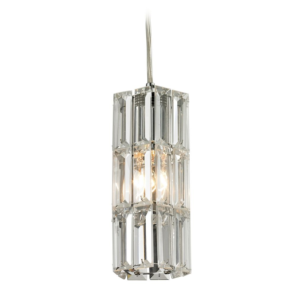 Crystal Mini Pendant Light 31487 1 Destination Lighting