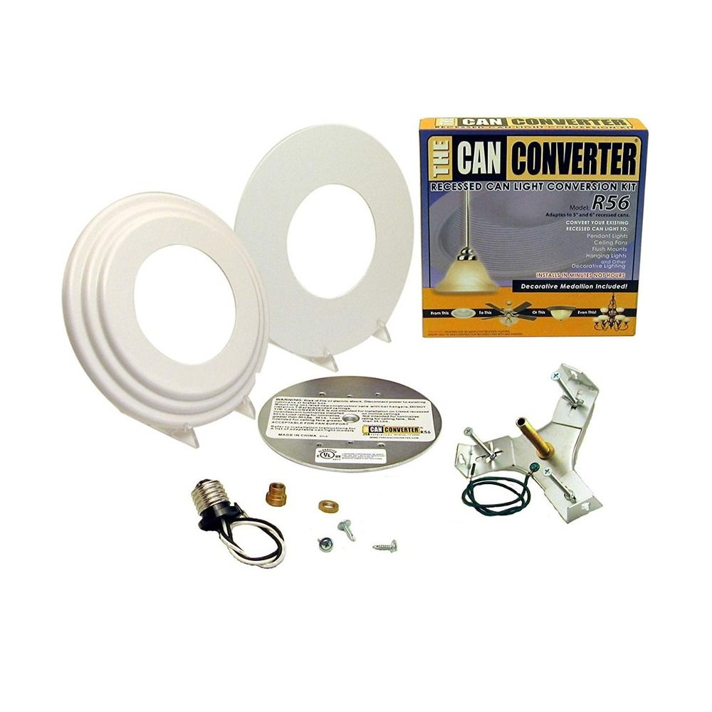 Recessed Lighting Conversion To Track : Recessed light converter kit roselawnlutheran