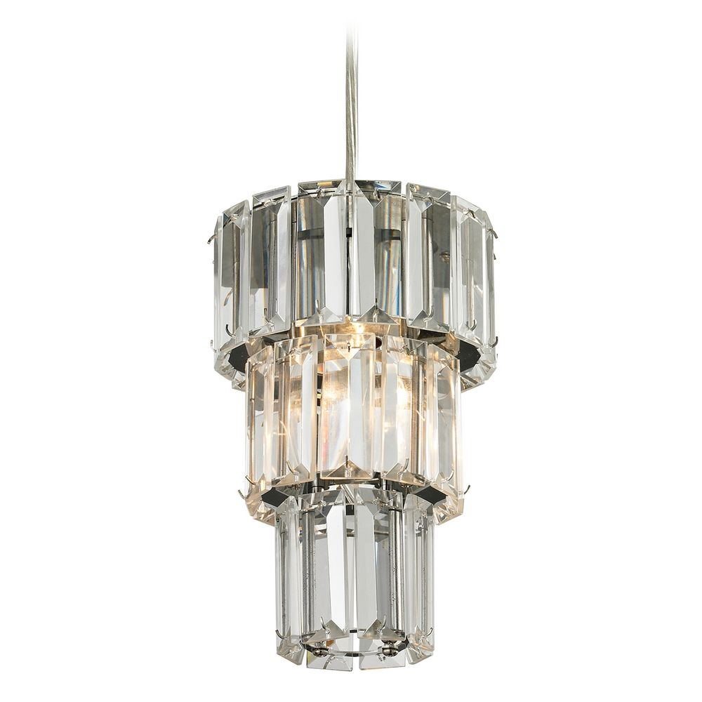 Crystal Mini Pendant Light 31489 1 Destination Lighting