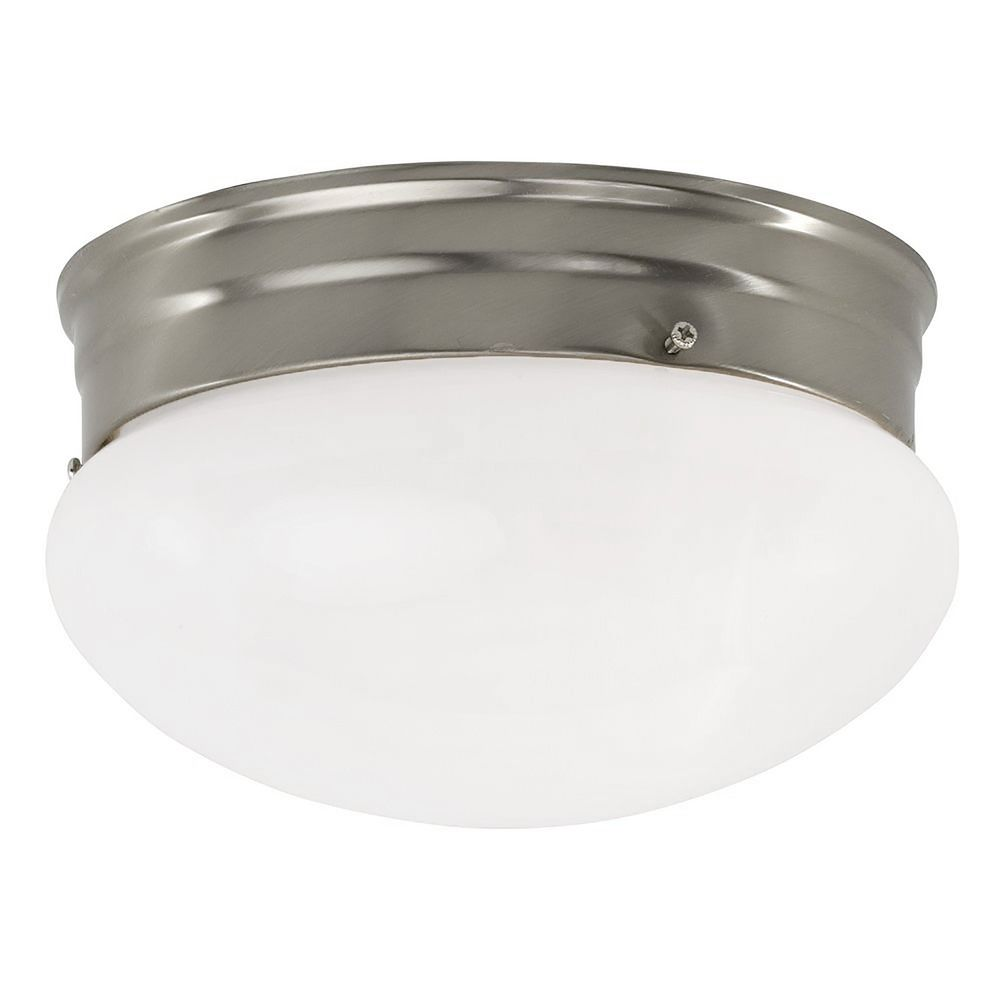 Inch Flushmount Ceiling Light Destination Lighting - Low profile kitchen ceiling lights