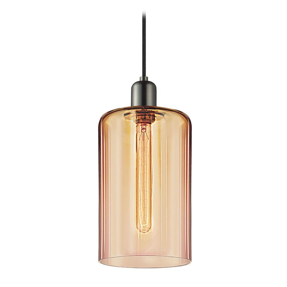 Industrial mini pendant light retro nickel cloche by for Sonneman lighting