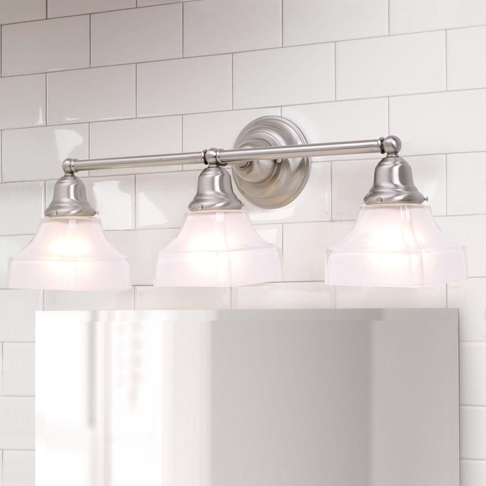 Craftsman Style 3 Light Vanity