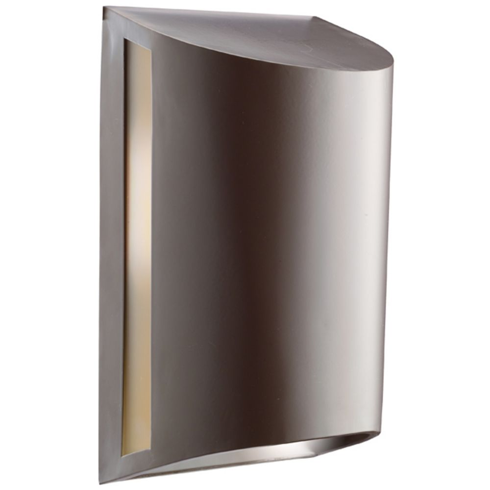 Bronze Finish Wall Lights : Kichler Modern Outdoor Wall Light in Architectural Bronze Finish 9095AZ Destination Lighting