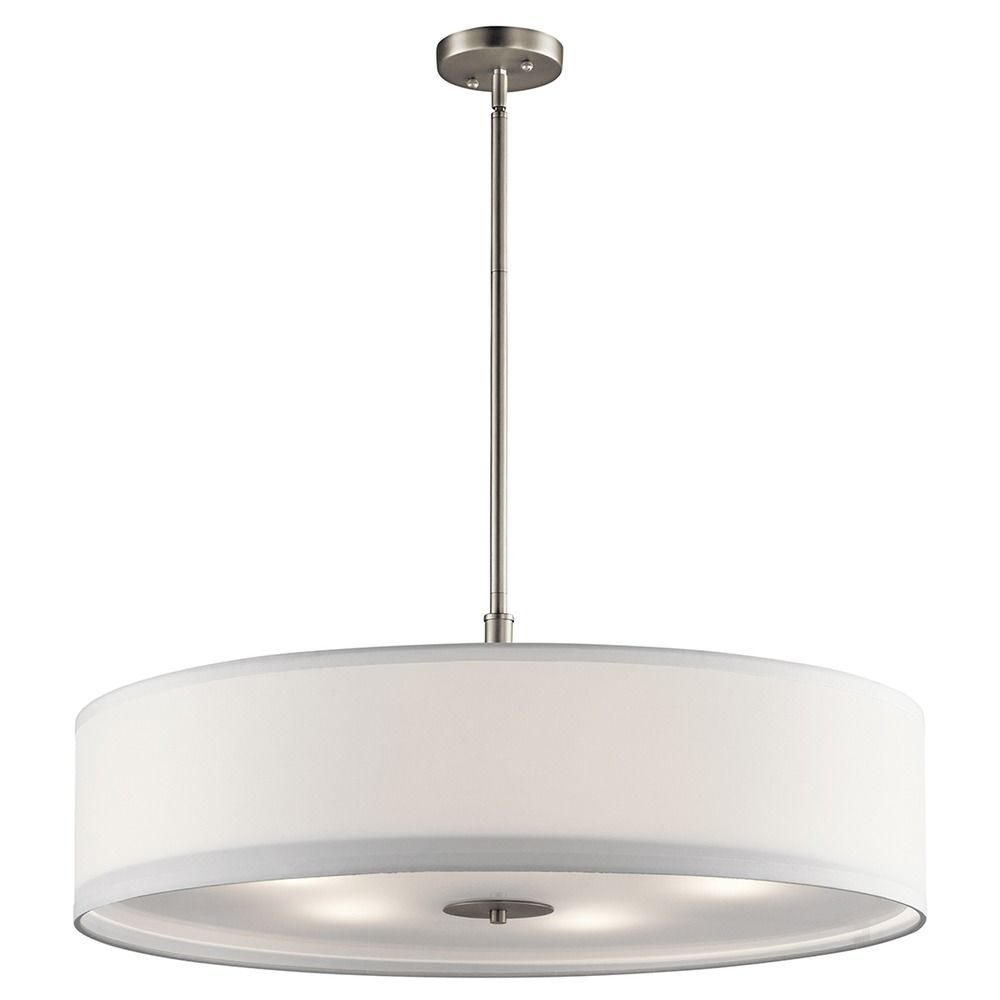 Kichler Lamps: Kichler Lighting Pendant Light With Drum Shade