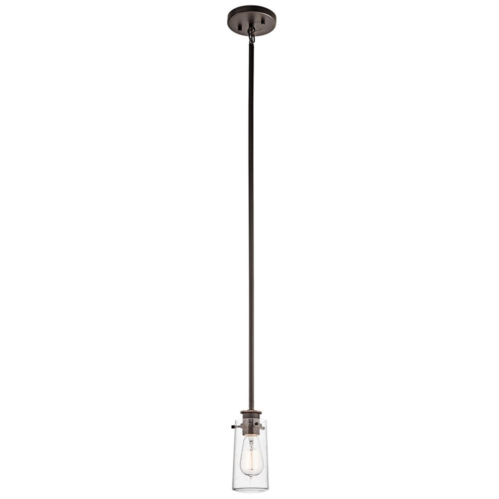 Kichler mini pendant light with clear glass 43060oz destination kichler mini pendant light with clear glass alt1 aloadofball Images