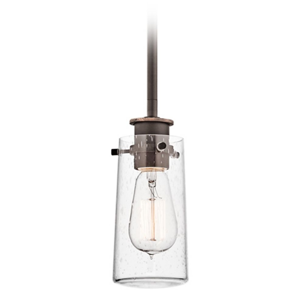 Kichler Mini Pendant Light With Clear Glass