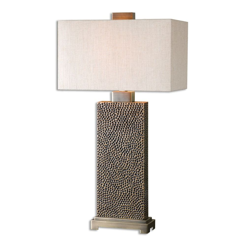 Uttermost Canfield Coffee Bronze Table Lamp 26938 1 Destination Lighting