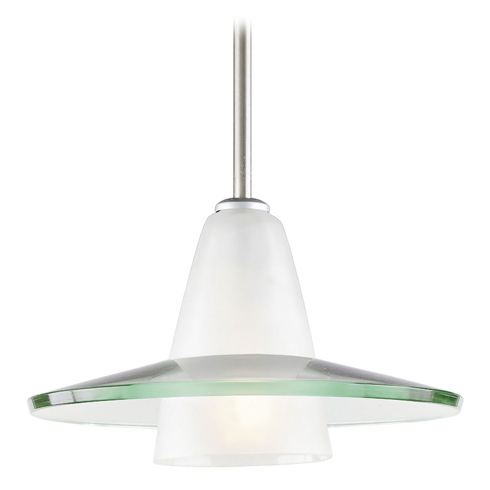 Progress Pendant Light With Saucer Glass Shade