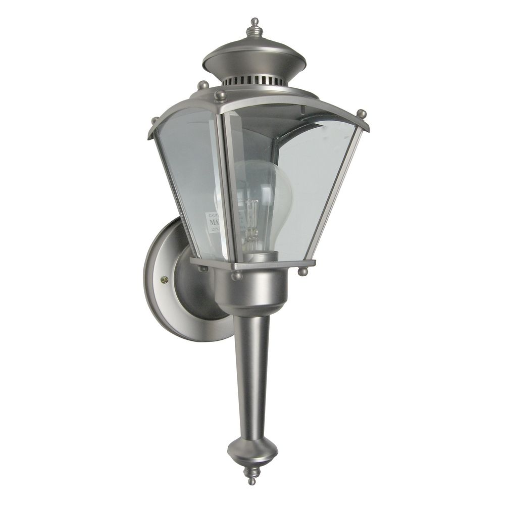 Outdoor Wall Light with Clear Glass in Pewter Finish 30223-PW Destination Lighting