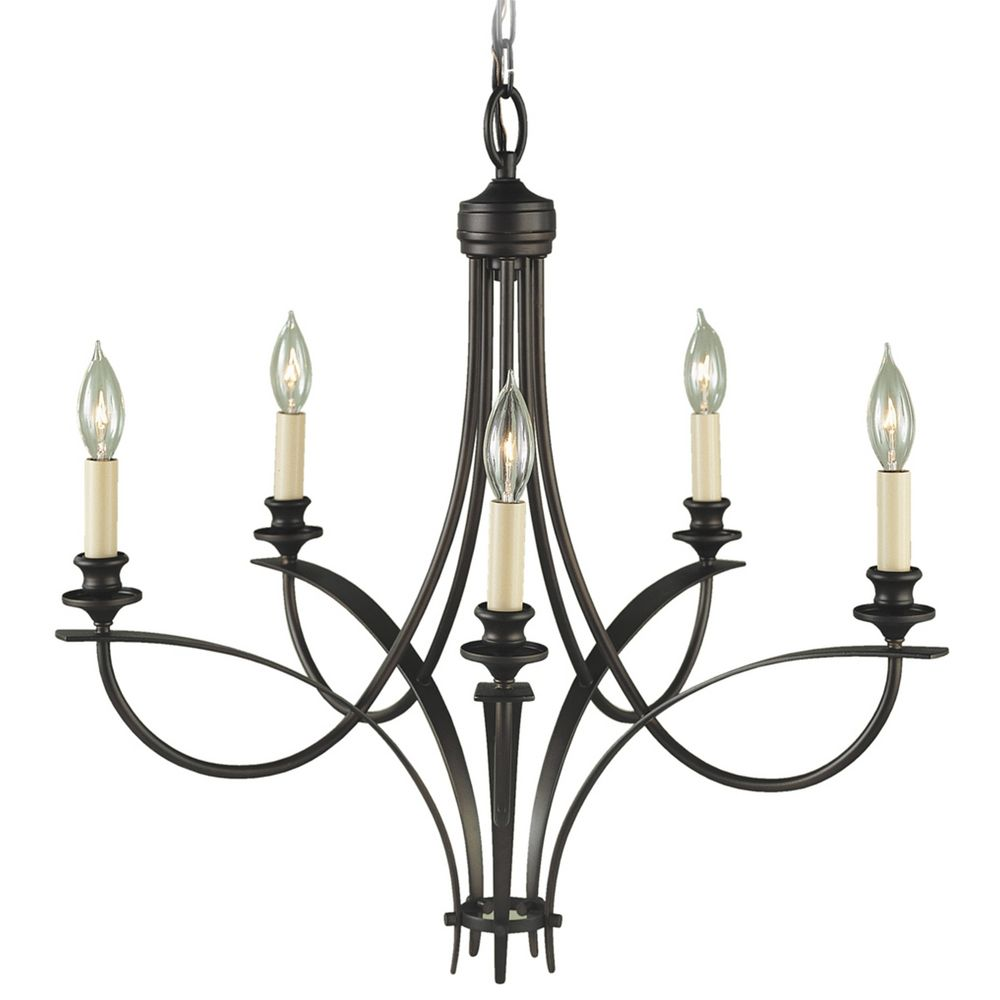 Chandelier In Oil Rubbed Bronze Finish F1888 5orb