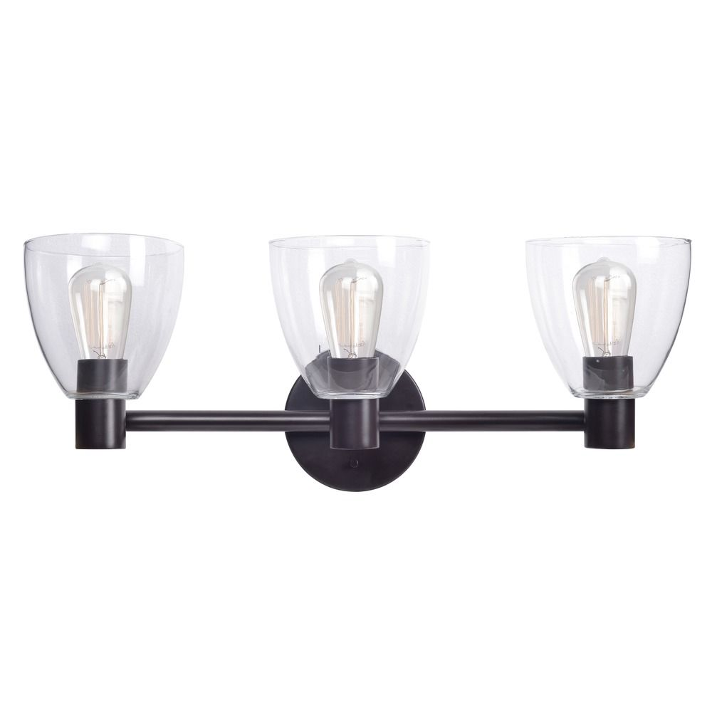 Kenroy Home Edis Oil Rubbed Bronze Bathroom Light | 92093ORB ...
