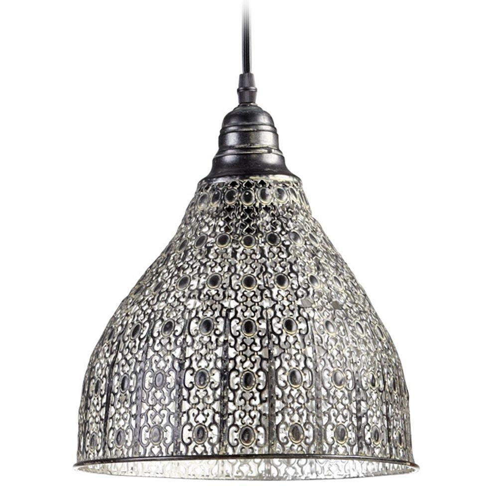 Cyan Design York Rustic Pendant Light With Bowl / Dome