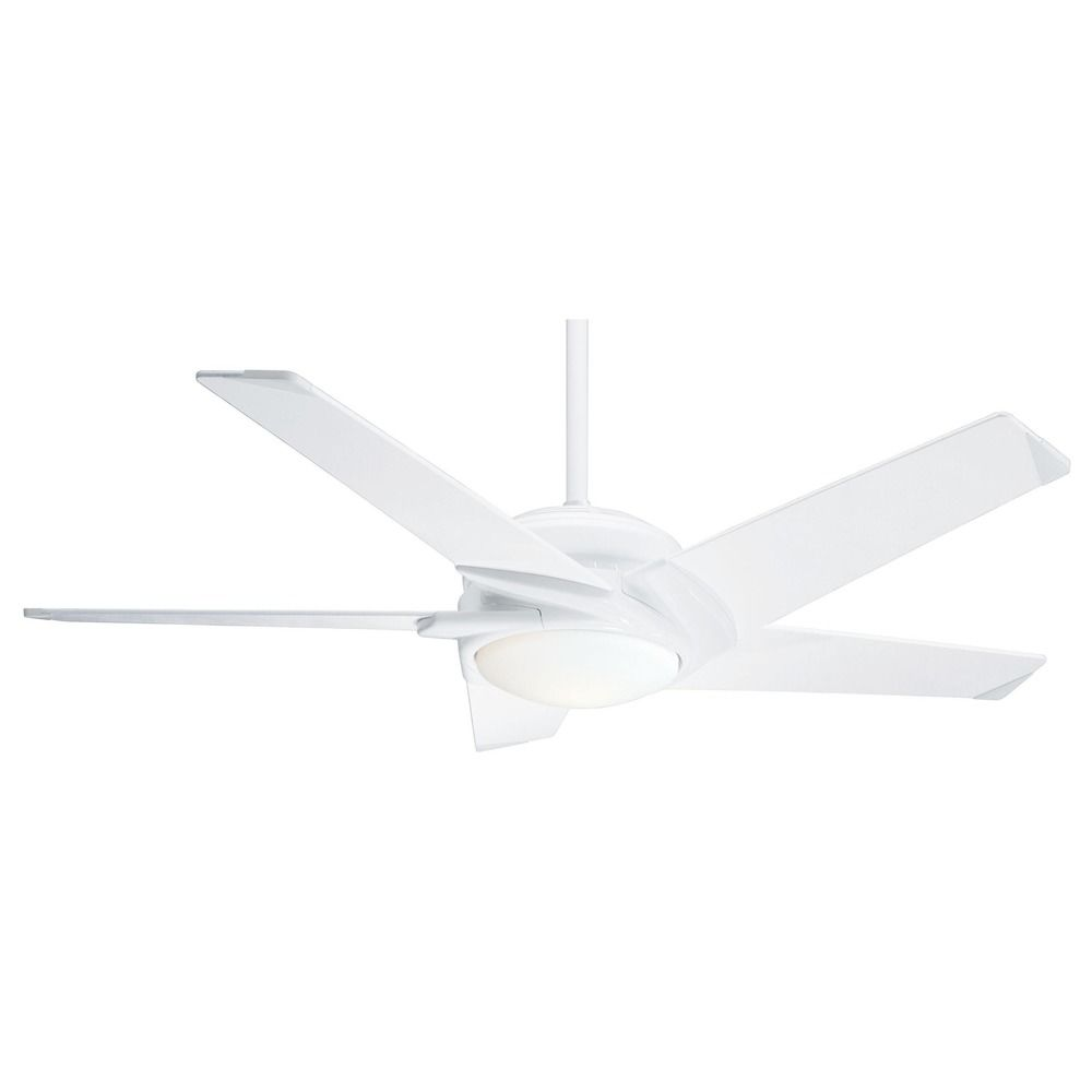 Casablanca Fan Co Stealth Dc Snow White LED Ceiling Fan