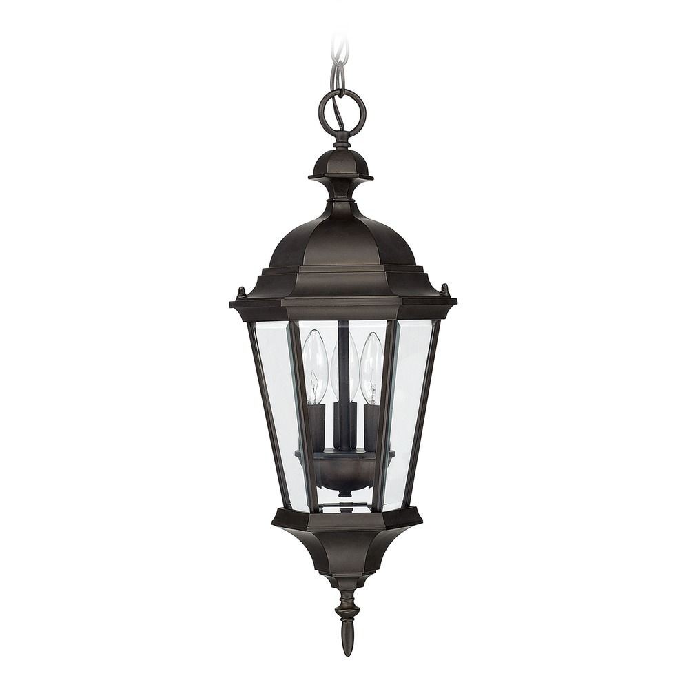 Capital lighting carriage house old bronze outdoor hanging light 9724ob destination lighting Exterior carriage house lights