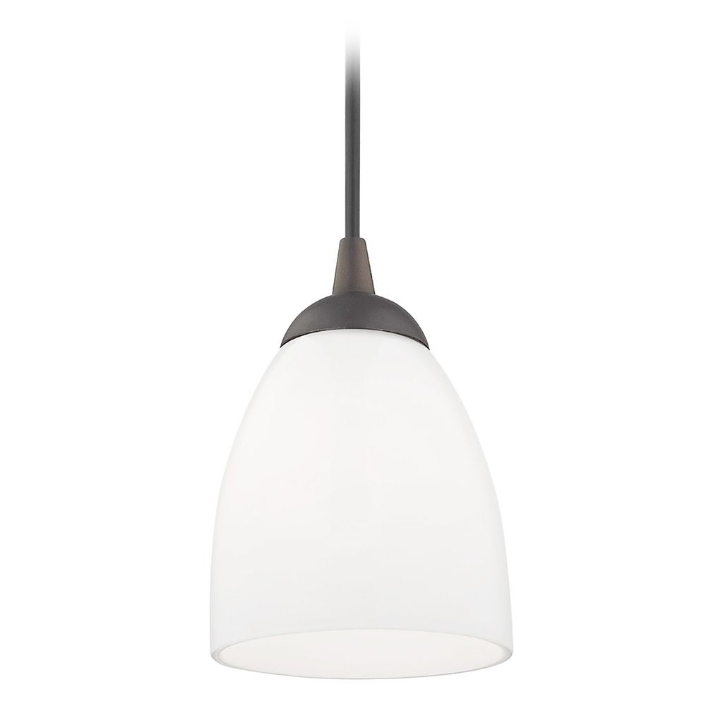 Hgtv Home Cassandra Blown Glass Mini Pendant Modern: Design Classics Lighting Contemporary Mini-Pendant Light