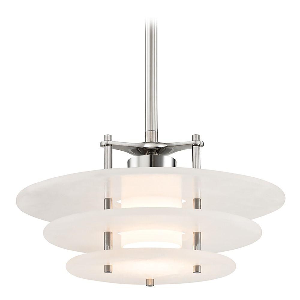 Hudson Valley Emergency Lighting: Hudson Valley Lighting Gatsby Polished Nickel LED Pendant